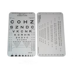 Adult Card - Near Vision Acuity Test (#2113)