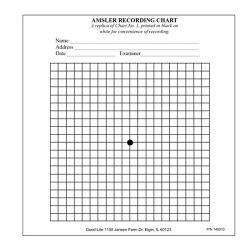 Amsler Grid Pad