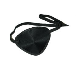 Eye Patches Black Elastic (Large) Package Of 12
