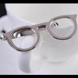Spectacles Tie Clip